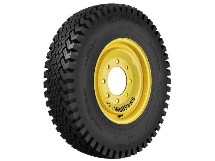 SnowWolf® Introduces Ultra-Traction Tread, 10-Ply WolfPaws® Company Improves on Industry's Original Skid Steer Snow Tires