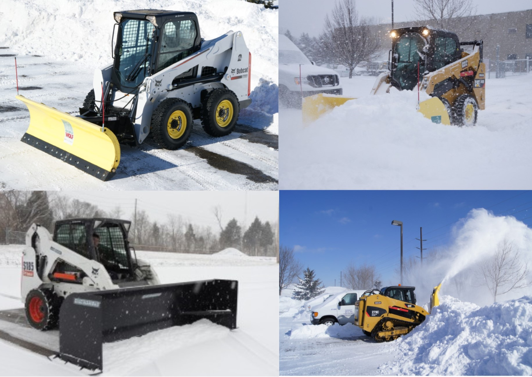 The Right Snow Removal Attachment for Your Skid Steer