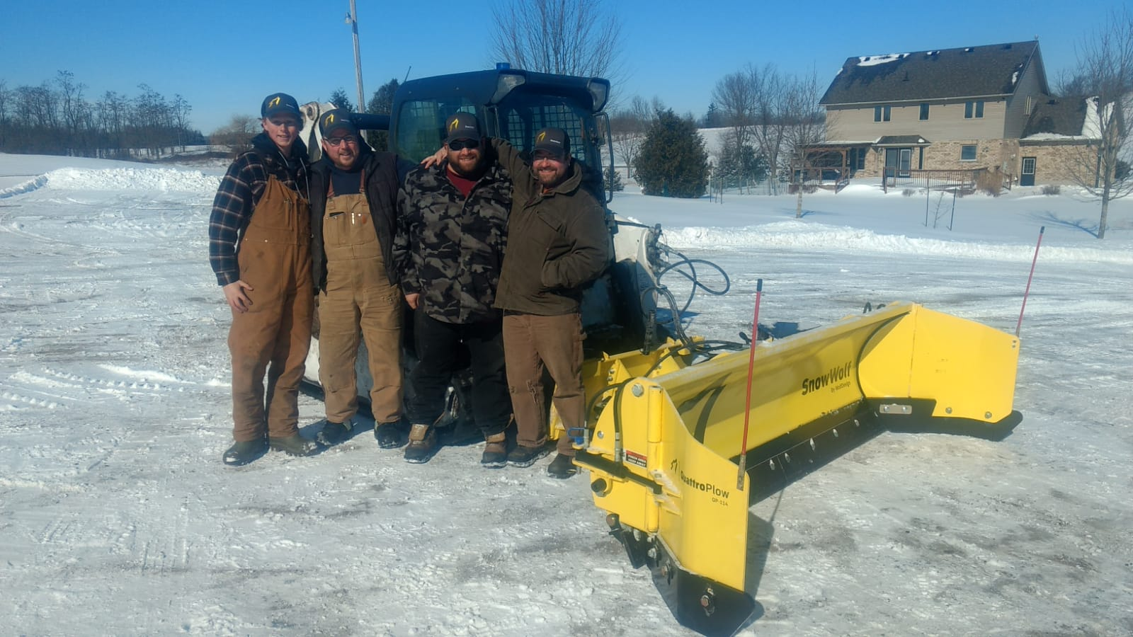 good snow removal employees