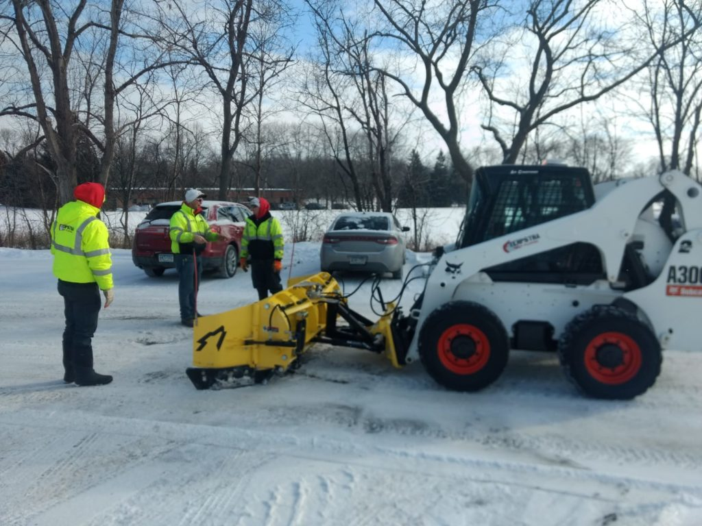 snow removal training snowwolf snow plows