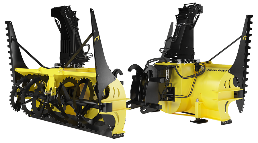 QuattroPlow for Skid Steers