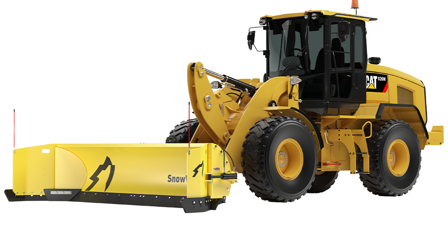 QuattroPlow for Large Wheel Loaders