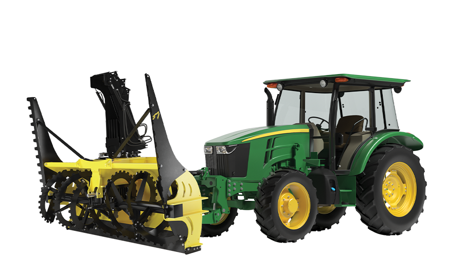 QuattroPlow for Compact Wheel Loaders