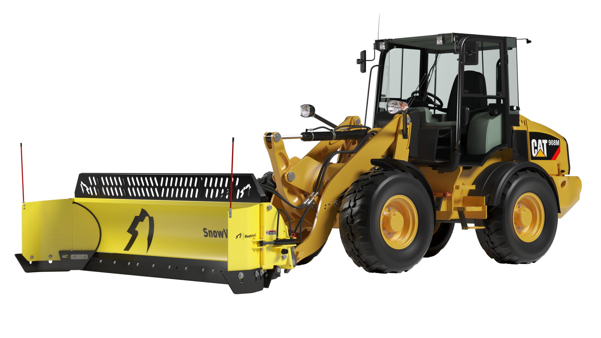 QuattroPlowXT for Compact Wheel Loaders