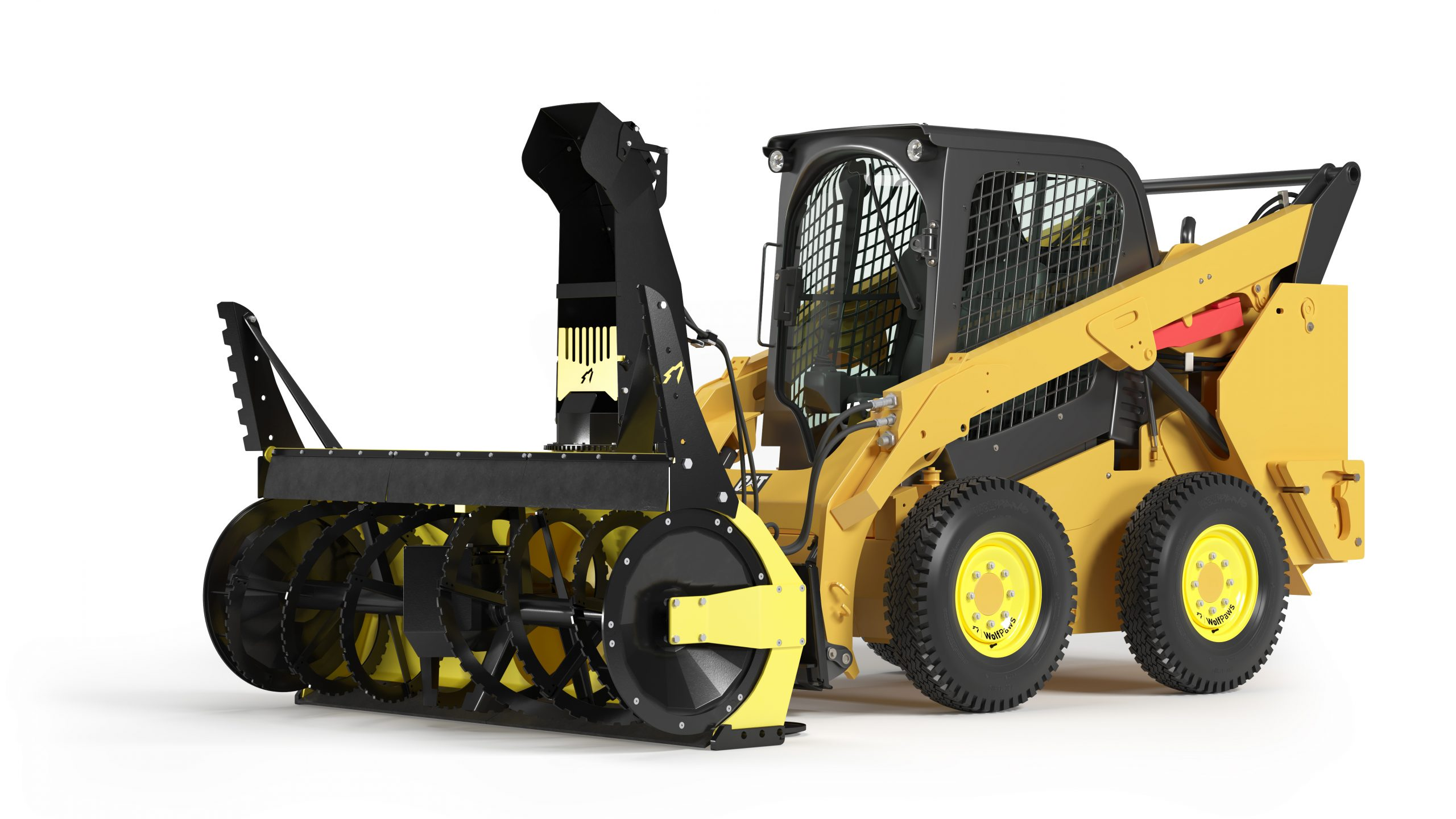 AlphaBlower for Skid Steers